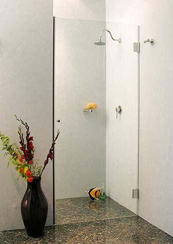 a1n nischen t ren duschabtrennung glas klar verchromt. Black Bedroom Furniture Sets. Home Design Ideas