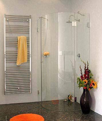 a1v viertelkreis rund duschkabine 1 t re glas klar verchromt h 195cm. Black Bedroom Furniture Sets. Home Design Ideas