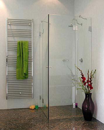 a2e eck duschkabine 2 t ren glas klar verchromt h 195cm. Black Bedroom Furniture Sets. Home Design Ideas