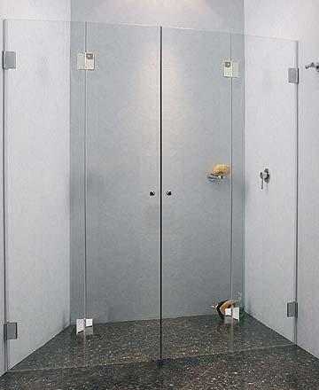 fk2n nischen t ren falt duschabtrennung glas klar verchromt h 173cm. Black Bedroom Furniture Sets. Home Design Ideas