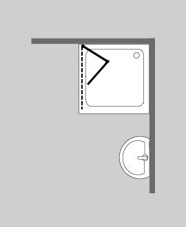 duschtrennw nde freistehend. Black Bedroom Furniture Sets. Home Design Ideas