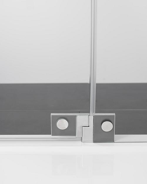 Glasscharnier Dusche von innen