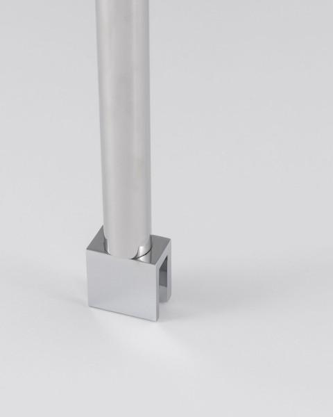 A/SUV75-cr, Deckenarmset, verchromt, H=75cm