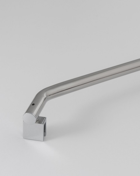 A/SUPX-cr, Wandarmset lang über Eck, verchromt, 25x60cm