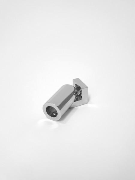 G/SUP40-cr, Wandarmset über Eck für 6/8mm Dusche, verchromt, 40cm